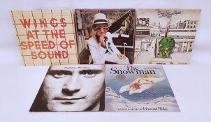 LP records;Wings 'The Speed of Sound', Progress 'Busy Making Progress', Elton John 'Greatest Hits',