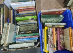 Assorted volumes , various subjects, philosophy, education. rugby, boxing, tennis, ( 3 boxes)