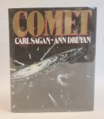 Sagan, Carl and Druyan, Ann 'Comet' , Random House 1985,signature on title page, black cloth, has