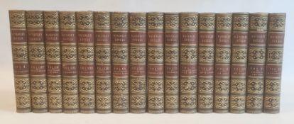 "Fine bindings ""The Waverley Novels"", Adam & Charles Black 1853, not a full set, full blue morocco"