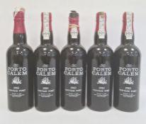 Five bottles of 1983 Porto Calem vintage port, bottled 1985 by A A Calum & Filho Lda, Porto,