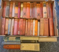 Mid 20th century detective stories:- J S Fletcher, R Austin Freeman, Penguin Erle Stanley Gardner (3