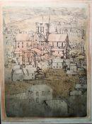 "*****| WITHDRAWN ******* Richard Beer Limited edition print ""Winchester"", 13/50, signed to margin"