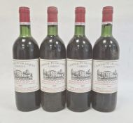 Four bottles of 1982 Chateau Puyblanquet Carrille Saint-Emilion Grand Cru (4)