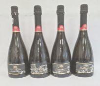 Four bottles 2011 Philippe Michel Cremant du Jura ChardonnayBrut (4)
