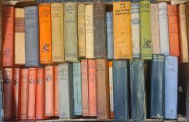 Large quantity of early/mid 20th century detectiveto include JS Fletcher, John Buchan, Freeman