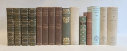 """The Works of John M Synge"" in 4 vols, Maunsel & Company 1910, photogravure frontis to vol 1, 2, 3"