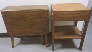 Single drawer bedside table, a modern Sutherland table(2)