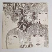 The Beatles 'Revolver' 1966 black and yellow Parlophone label, mono, PMC 7009, xex 605-2 xex 606-2
