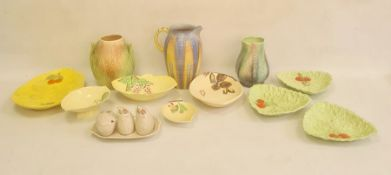 Quantity of Carltonware, Shelley and other Art Deco ceramics, 1930's, various printed marks,