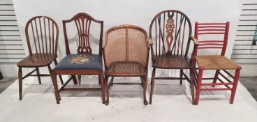 Five assorted chairs(5)