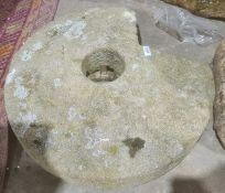Millstone, 53cm diameter