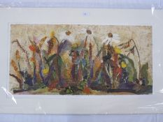 """Barbara Shaw Limited edition print """"September"""", No. 8 of 50, signed in pencil to the margin,"""
