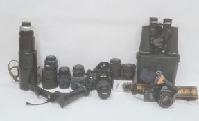 Pentax camera P30N, a camcorder and stand and other camera equipment (6)  Condition