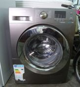 Samsung Eco Bubble 8.0kg washing machine Condition ReportThe machine is not new, it has been used.