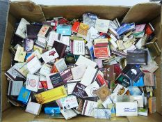 Large collection of matchboxesfrom various parts of the World and various hotels to include The
