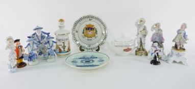 Lipton Factory limited edition teapot, no.174/250, America's Cup Centenary ceramic decanter made