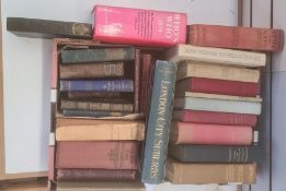 """Assorted volumes to include Fitzgerald Percy , Luker W. Jr. (ills) """" London City Suburbs As They Are"""