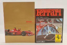 "Tanner, Hans and Nye, Doug "" Ferrari"" sixth ed. Guild publishing London 1985, red boards. d-j."