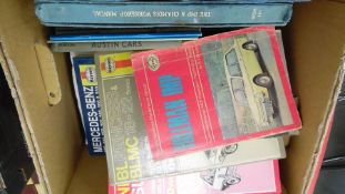 Various car manuals and Owners Handbooks to include Hillman Imp, The Imp and Chamois Workshop