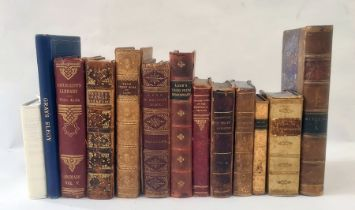 Antiquarian - New Pocket Dictionary English - Italian, Italian - English, Baudry , Lyons, contemp