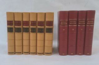 """Fine Bindings - [Borrow George] """" Celebrated Trials and Remarkable Cases of Criminal Jurisprudence"""