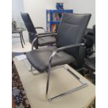 Pair of Dauphin office chairs(2)