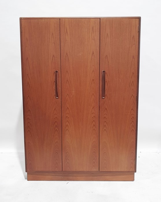 20th century teak G-Plan 'Fresco' bedroom suiteto include dressing table, a wardrobe, two bedside - Image 2 of 4