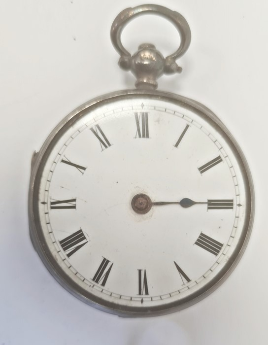Smiths Deluxe gentleman's gilt metal strap watchwith subsidiary seconds dial, a silver open faced - Image 2 of 10