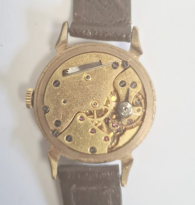 Smiths Deluxe gentleman's gilt metal strap watchwith subsidiary seconds dial, a silver open faced - Image 10 of 10