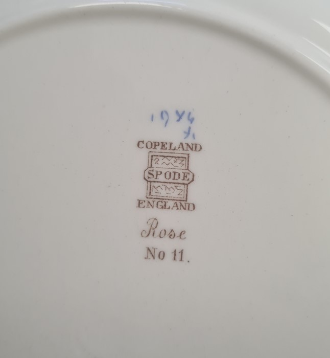 11 Wedgwood US Military Academy West Point, New York 'From US to New York' pottery plates, views - Image 6 of 6