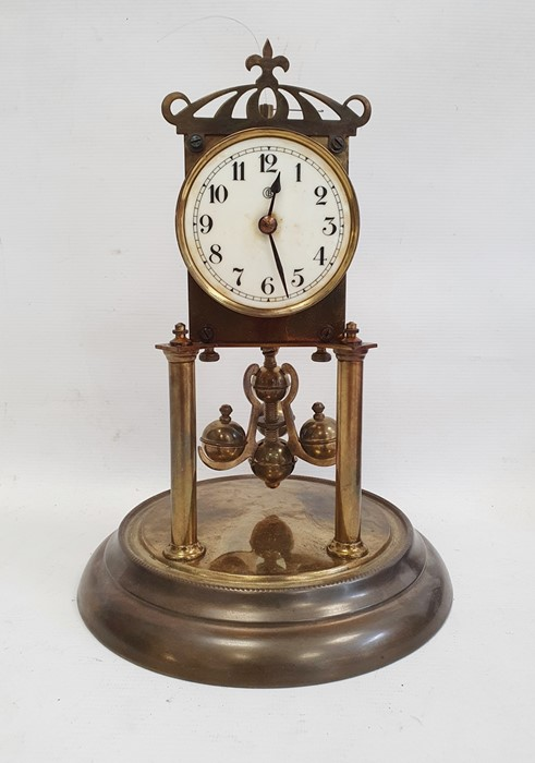 Anniversary clockin glass dome and a draughtsmans set (2) - Image 6 of 9