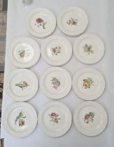11 Wedgwood US Military Academy West Point, New York 'From US to New York' pottery plates, views
