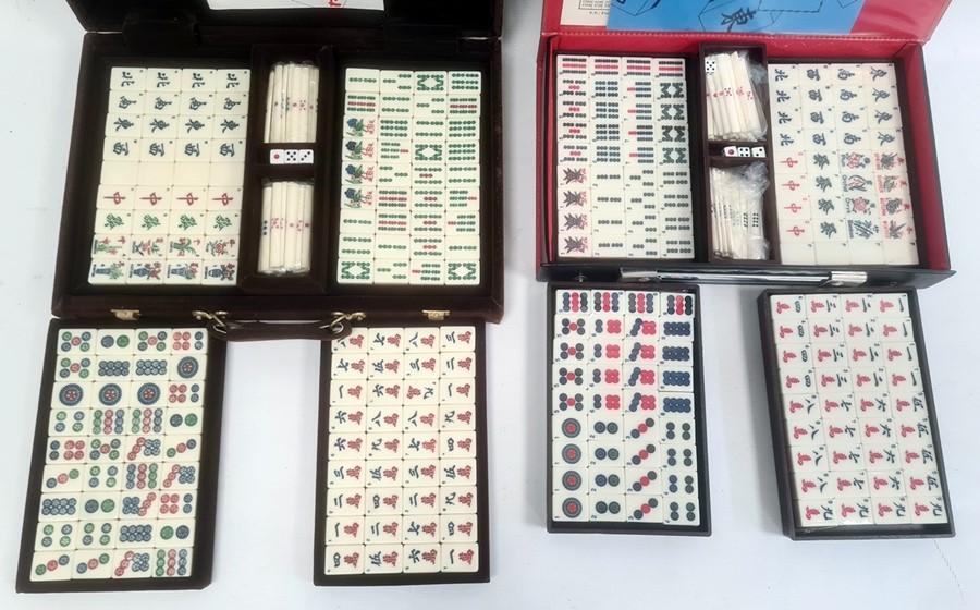 Two boxed Mahjong sets - Image 2 of 2
