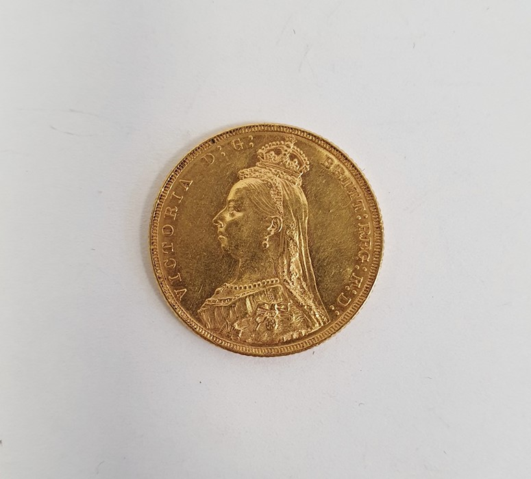Victorian gold sovereign 1892 - Image 2 of 2