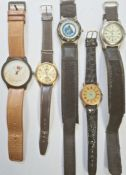 Assorted gents watches to include examples by Ricardo and Lorus