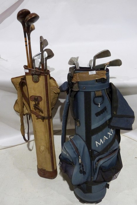Assorted golf clubsto include left-handed wood-handled clubs, a Gibson & Co Ltd of Scotland King - Image 5 of 5