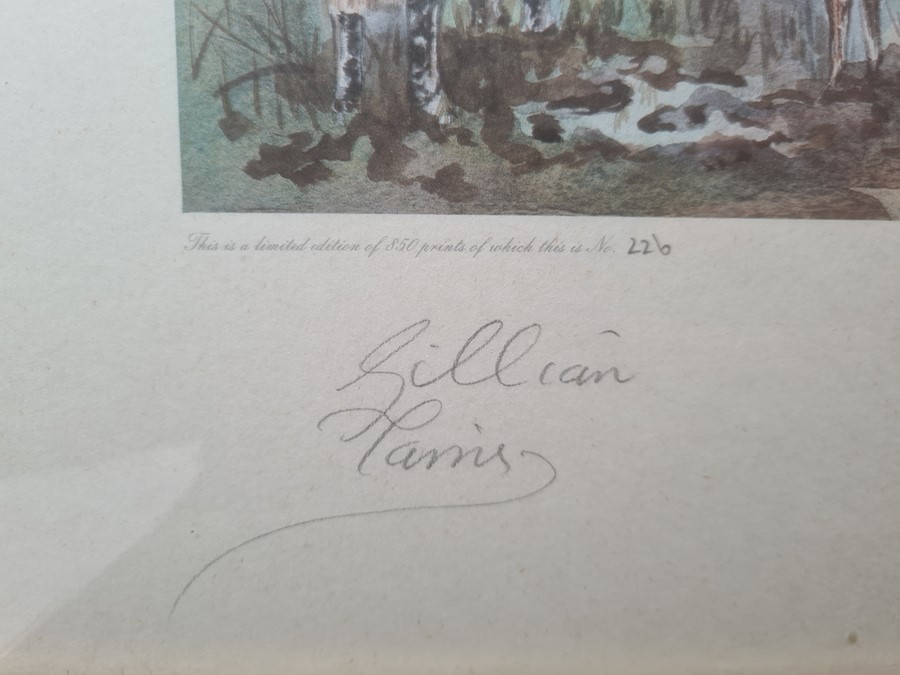 After Gillian Harris Limited edition print 226/850 'Still to be enjoyed?' signed lower left 43 x - Image 3 of 5