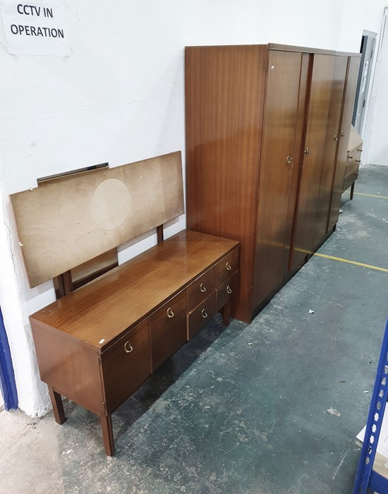 20th century two-door wardrobe, dressing table and further wardrobeby Remploy (3)