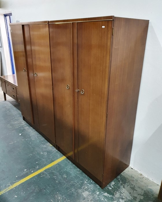 20th century two-door wardrobe, dressing table and further wardrobeby Remploy (3) - Image 2 of 2