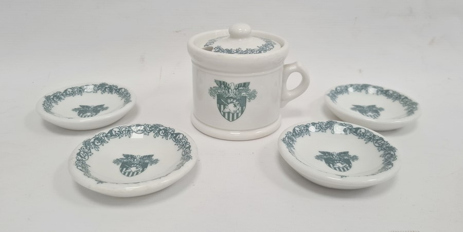 11 Wedgwood US Military Academy West Point, New York 'From US to New York' pottery plates, views - Image 2 of 6