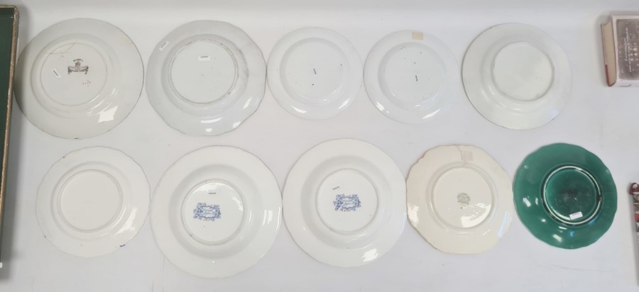 Collection of Staffordshire ironstone pottery and porcelain, early to late 19th century, printed and - Image 2 of 4