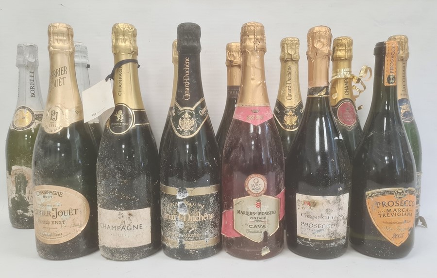 Six bottles of champange and eight other various sparkling winesto include Lanson Black Label, - Image 2 of 2