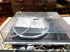 Garrard Quartz DDQ550 electronic turntable and an Ariston integrated amplifier (2)