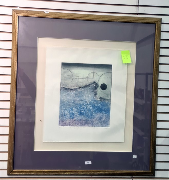 """Devoc (20th century school) Limited edition print """"A Passing Thought Like a Wave on the Mind Sea"""", - Image 2 of 2"""