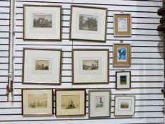 Quantity of framed prints, photographs, etc.