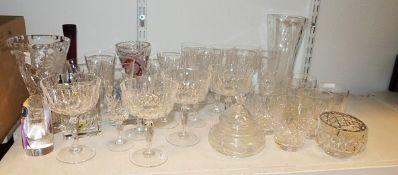 Glass witches balls, glass vasesand other decorative glassware, ceramicsand digital picture