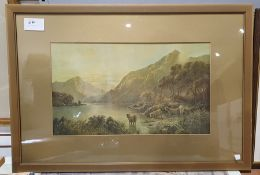 Selection of framed prints, prints on canvas, topographical, etc (16)