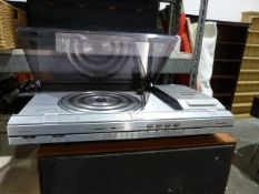 Bang and Olufsen Beocenter 4600 turntable and a pair of Beovox 1500 speakersCondition