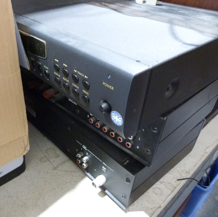 Dual Audiophile Concept record deck, speakers, an Arcam Alpha CD player, amp and tunerCondition - Image 2 of 9